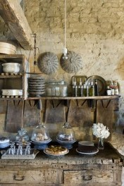 Gorgeous Rustic Country Style Kitchen Made By Wood 19