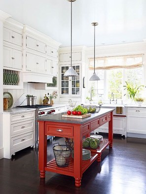 Gorgeous Rustic Country Style Kitchen Made By Wood 32