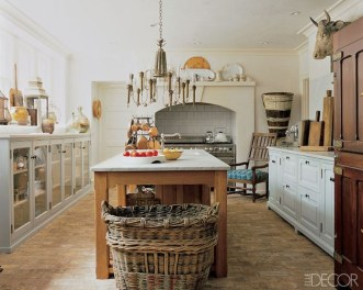 Gorgeous Rustic Country Style Kitchen Made By Wood 42