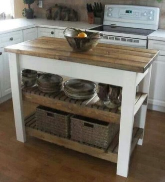 Gorgeous Rustic Country Style Kitchen Made By Wood 43