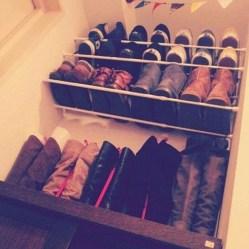 Inspiring Ideas Organize Shoes Home 11