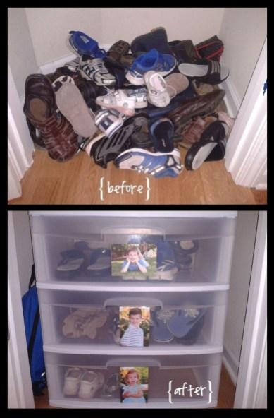 Inspiring Ideas Organize Shoes Home 40
