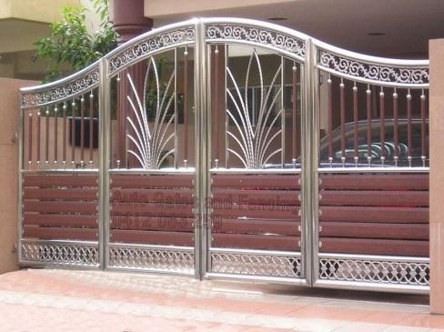Inspiring Modern Home Gates Design Ideas 03