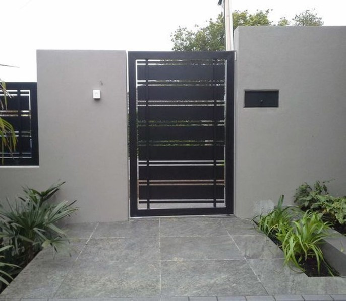 Inspiring Modern Home Gates Design Ideas 11