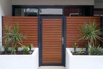 Inspiring Modern Home Gates Design Ideas 17