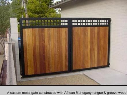 Inspiring Modern Home Gates Design Ideas 24