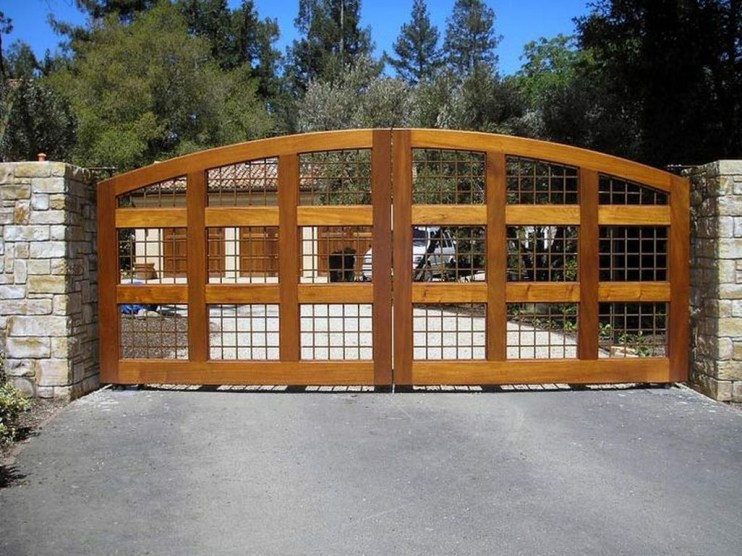 Inspiring Modern Home Gates Design Ideas 34