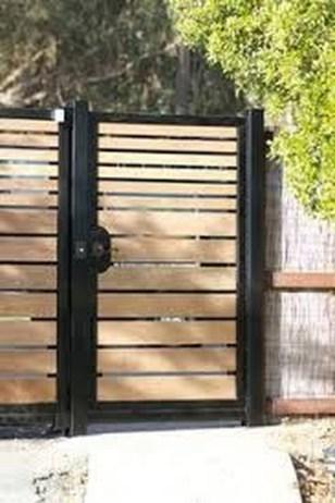 Inspiring Modern Home Gates Design Ideas 38