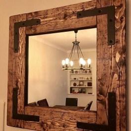 Inspiring Rustic Small Bathroom Wood Decor Design 38