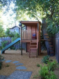 Inspiring Simple Diy Treehouse Kids Play Ideas 01