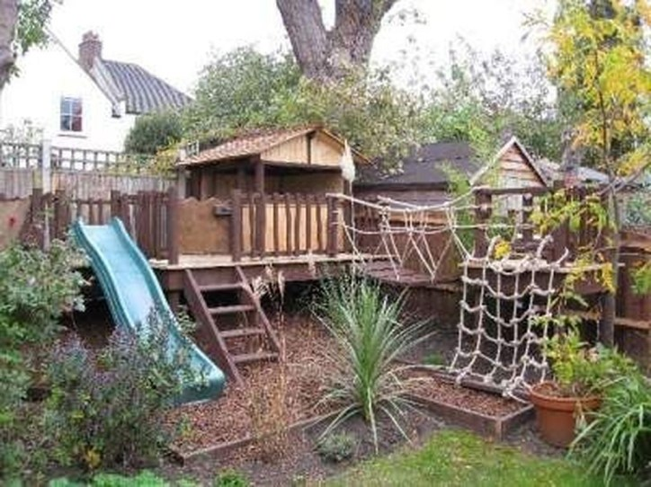 Inspiring Simple Diy Treehouse Kids Play Ideas 09
