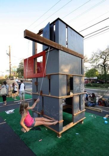 Inspiring Simple Diy Treehouse Kids Play Ideas 11