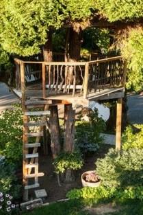 Inspiring Simple Diy Treehouse Kids Play Ideas 19