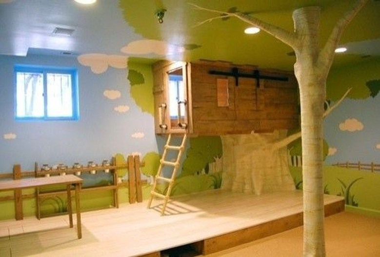 Inspiring Simple Diy Treehouse Kids Play Ideas 27