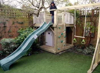 Inspiring Simple Diy Treehouse Kids Play Ideas 28