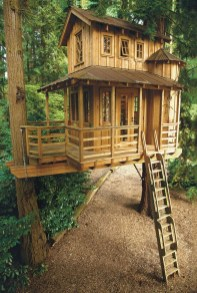 Inspiring Simple Diy Treehouse Kids Play Ideas 40