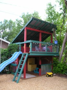 Inspiring Simple Diy Treehouse Kids Play Ideas 43