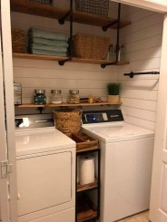Modern Basement Remodel Laundry Room Ideas 01