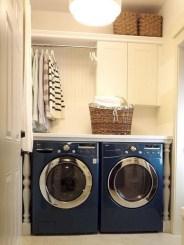 Modern Basement Remodel Laundry Room Ideas 03