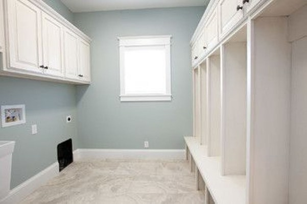 Modern Basement Remodel Laundry Room Ideas 06