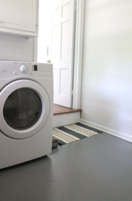 Modern Basement Remodel Laundry Room Ideas 07