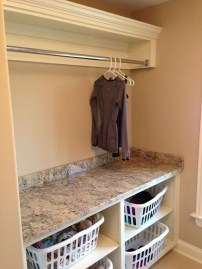 Modern Basement Remodel Laundry Room Ideas 17