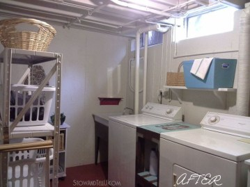 Modern Basement Remodel Laundry Room Ideas 18