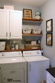 Modern Basement Remodel Laundry Room Ideas 30