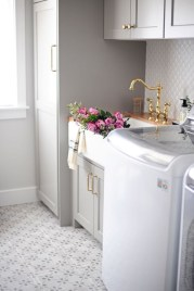 Modern Basement Remodel Laundry Room Ideas 33