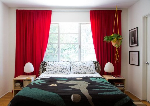 Modern Bedroom Curtain Designs Ideas 07