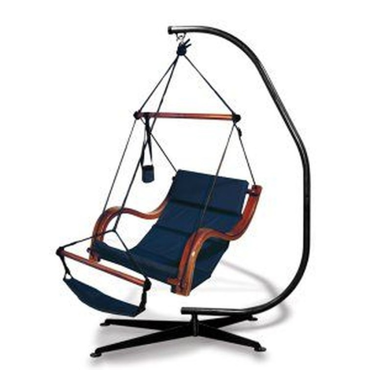 Modern Hanging Swing Chair Stand Indoor Decor 20