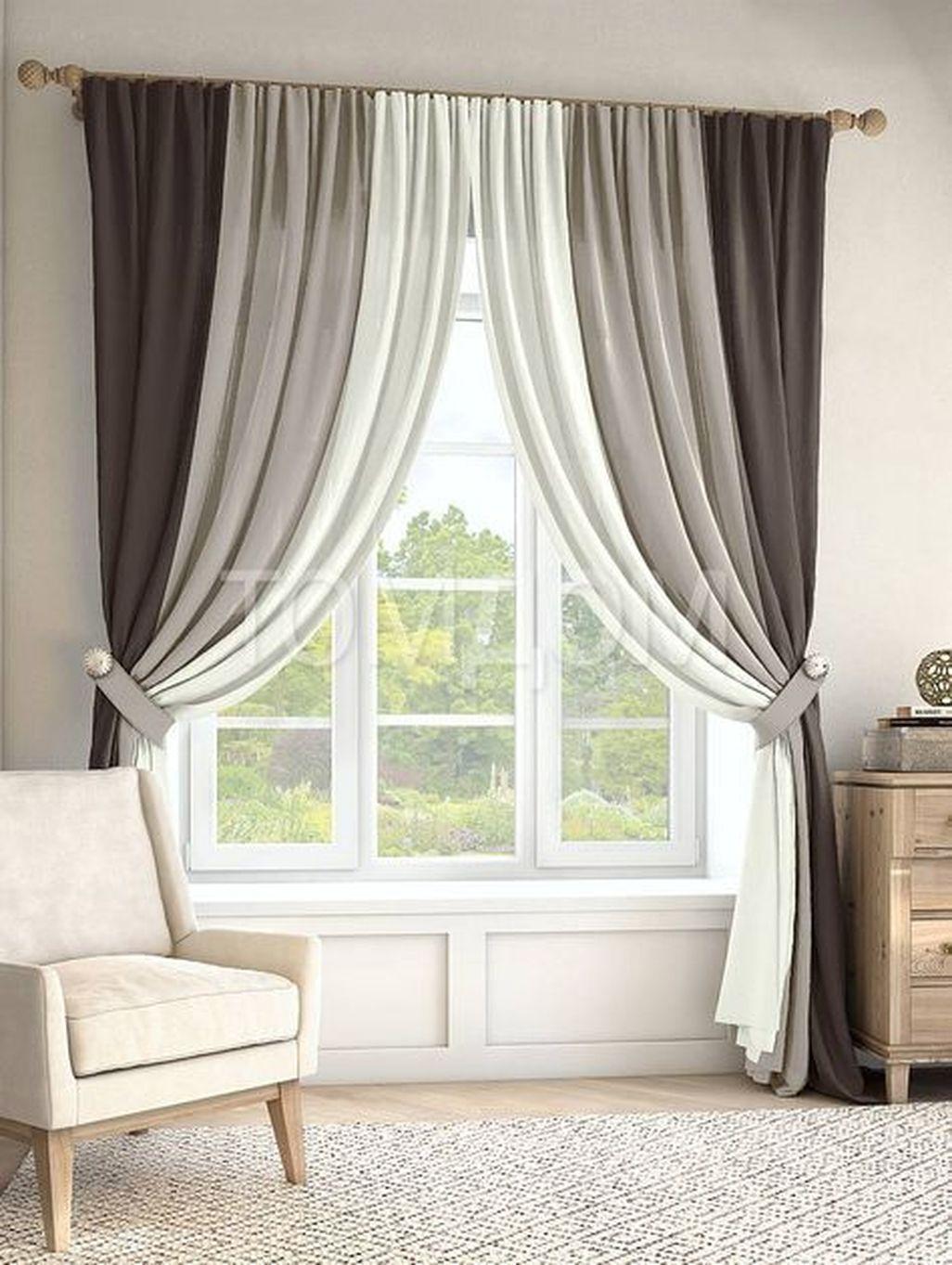 Modern Home Curtain Design Ideas 40