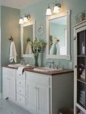 Rustic Country Bathroom Shelves Ideas Must Try 15