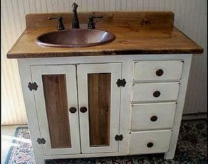 Rustic Country Bathroom Shelves Ideas Must Try 19