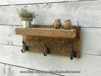 Rustic Country Bathroom Shelves Ideas Must Try 45
