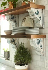 Rustic Country Bathroom Shelves Ideas Must Try 46