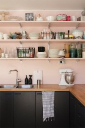 Dream Kitchen Brightened With A Pastel Color Palette 03