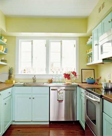Dream Kitchen Brightened With A Pastel Color Palette 32