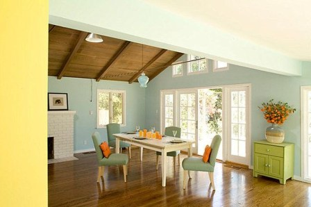 Dream Kitchen Brightened With A Pastel Color Palette 37