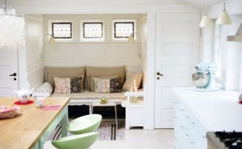 Dream Kitchen Brightened With A Pastel Color Palette 40