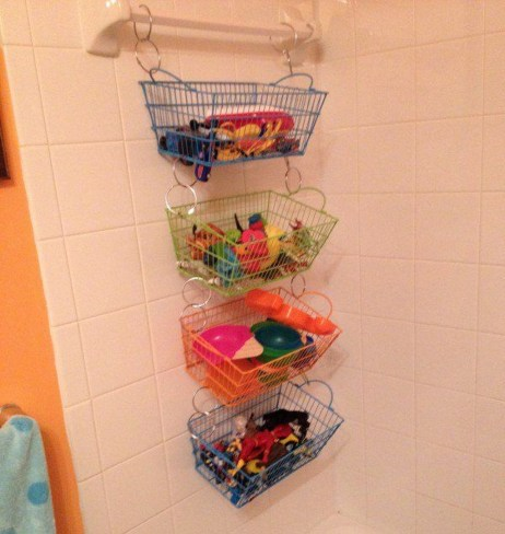 Amazing Hanging Kids Toys Storage Solutions Ideas10