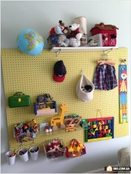 Amazing Hanging Kids Toys Storage Solutions Ideas25