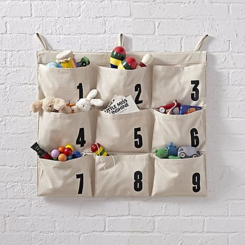 Amazing Hanging Kids Toys Storage Solutions Ideas33