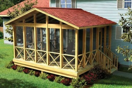 Amazing Wooden Porch Ideas15