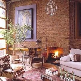 Artistic Vintage Brick Wall Design Home Interior38