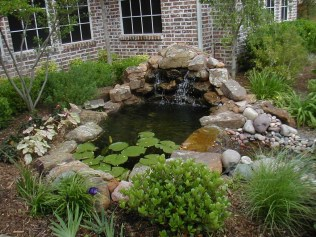 Awesome Small Waterfall Pond Landscaping Ideas Backyard03