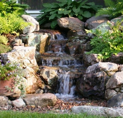 Awesome Small Waterfall Pond Landscaping Ideas Backyard21