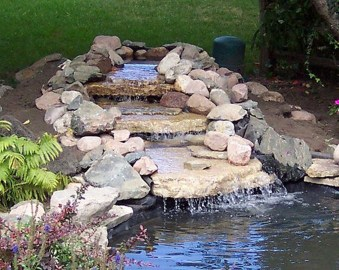 Awesome Small Waterfall Pond Landscaping Ideas Backyard26
