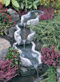 Awesome Small Waterfall Pond Landscaping Ideas Backyard37
