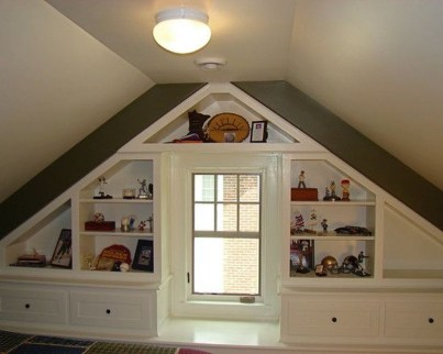 Awesome Traditional Attic You Can Try11